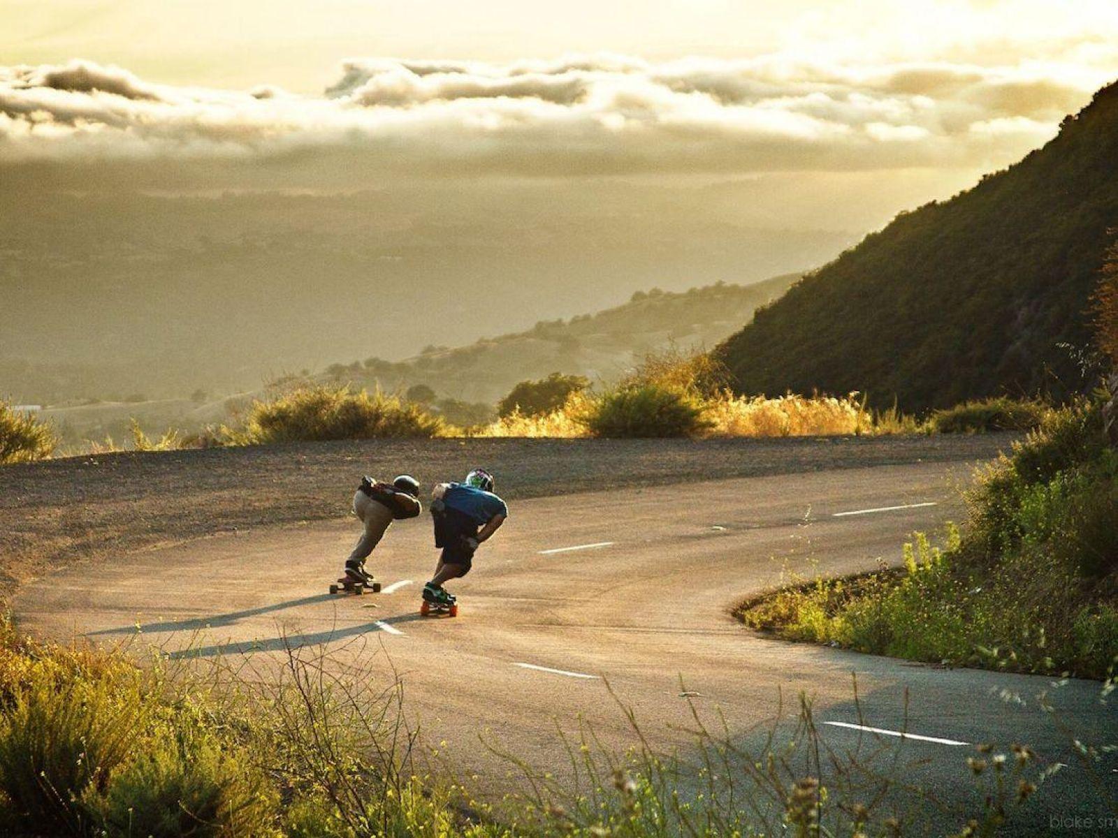 Teams A Smooth Downhill Ride